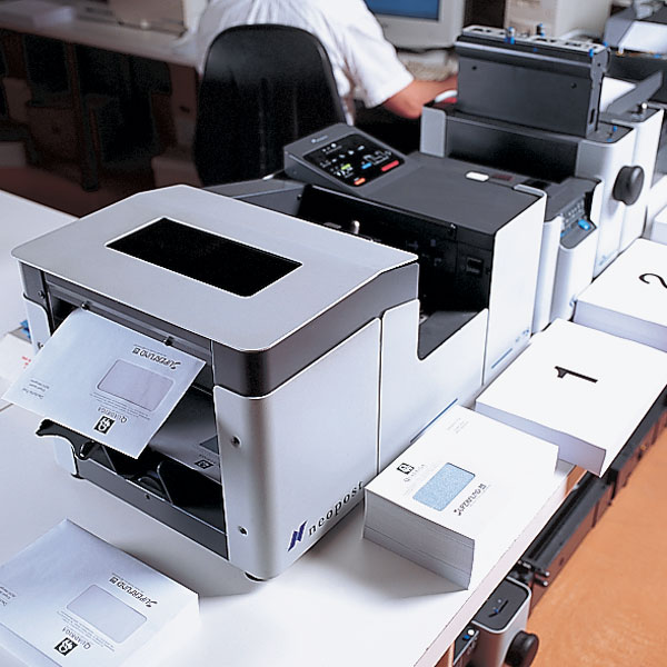 Druckerei Wenin - Kuvertieren