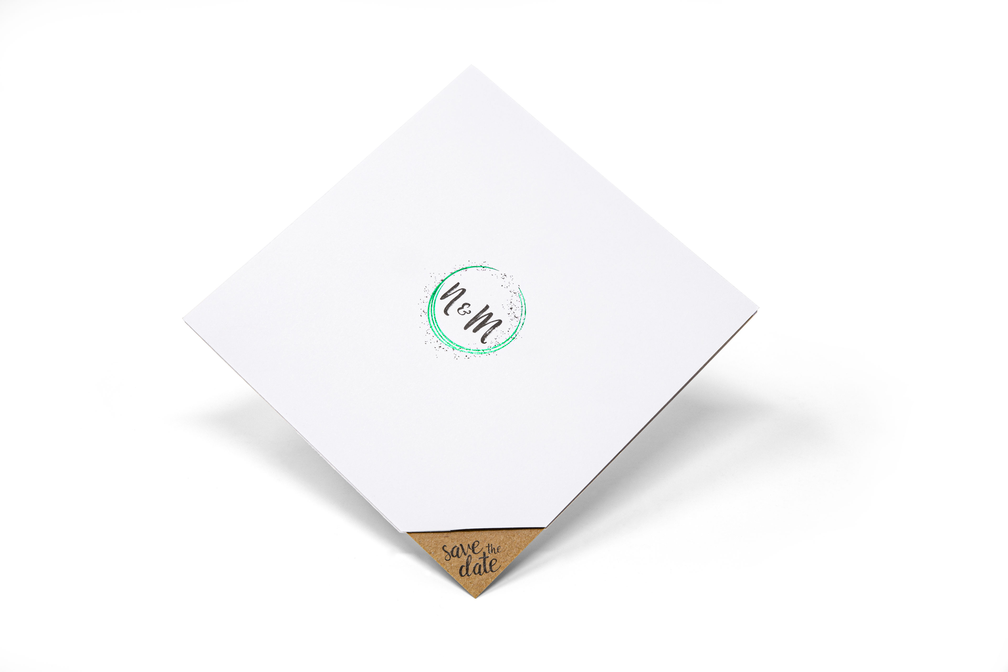 Druckerei Wenin - Save the Date Karte